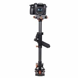 YELANGU S800 Professional 47-80cm Maximum Burden 5kg Carbon Fibre Handheld Stabilizer for DSLR & DV Digital Video & other Camera