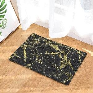 Image 4 - CAMMITEVER Luxsury Marble White Black Gold Carpet Bedroom Mat Rug Carpet for Living Room Rugs For Bedroom Kids Room Wholesale