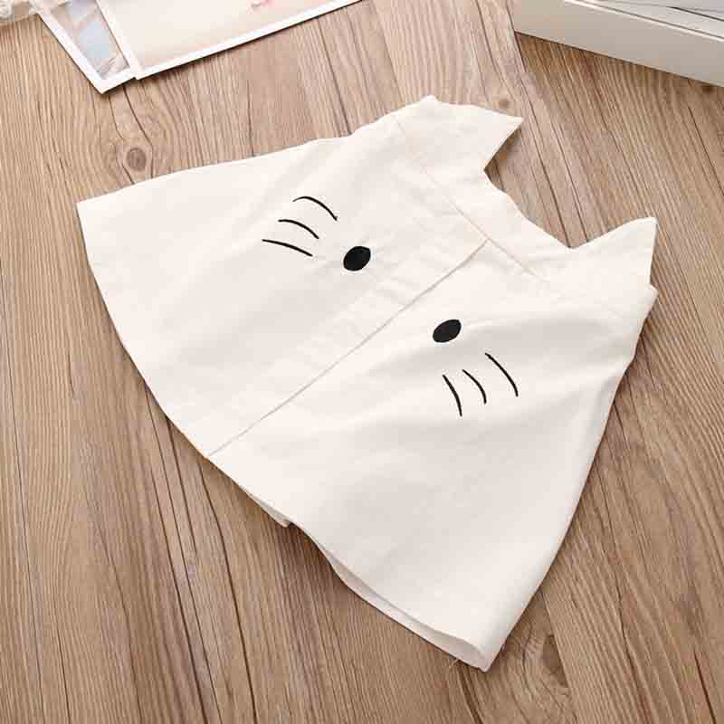 Girls Summer Clothes Wave Point Cartoon Skirt Teen Clothes Bow Girls Clothing Fashion Boutique Outfits Enfant Garcon Kids Sets in Clothing Sets from Mother Kids