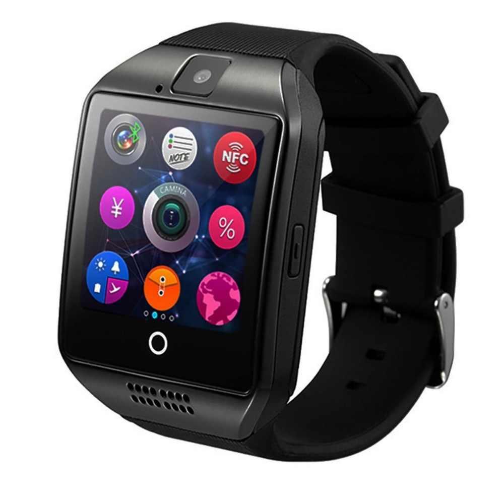 Q18 חכם שעון 1.5 אינץ מרחוק מצלמה שינה צג מד צעדים תמיכת כרטיס ה-SIM SMS שיחת תזכורת ספורט Wrisband