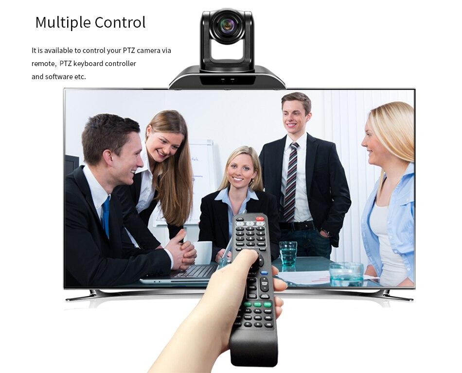 usb câmera de vídeo conferência ptz pan