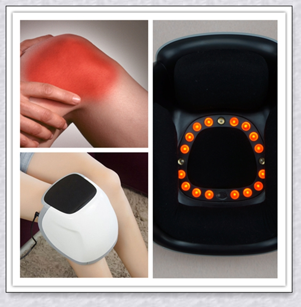 Knee Pain Relief Device Instrument With The Cold Laser / Infrared Light Therapy And Massage For Home Use electronic pain relief devices for pain in back of knee and the knee treatment