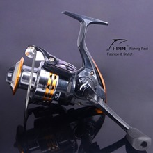 New Brass Carp Spinning Fishing Reel 5.2:1 Salt Water Wheel Trolling Coils Line Roller Carretilha Pesca 9BB 5.5:1 Free Shipping