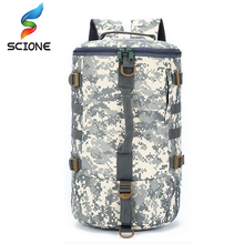 Hot Men Camping Waterproof Travel Military Army Bags Outdoor Sport Molle Tactical Rucksacks Camouflage Hiking Backpacks