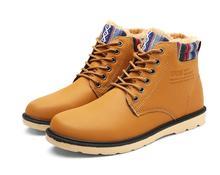 New listing hot sales Winter plus velvet Men's boots  man Martin boots  jx0111-2