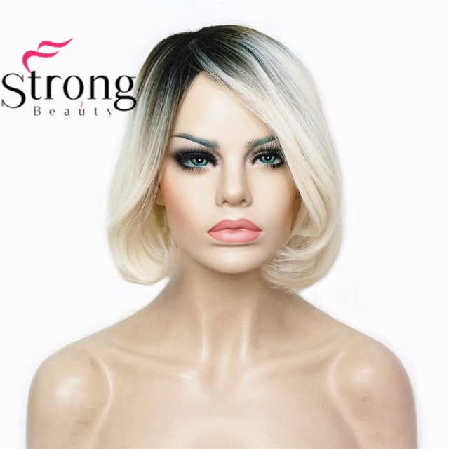 StrongBeauty femmes Ombre Bob Style Cheveux