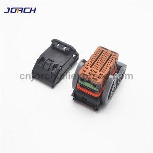 Image 5 - 1 set 48pin way ecu automotive connector plug female molex wire brown connectors