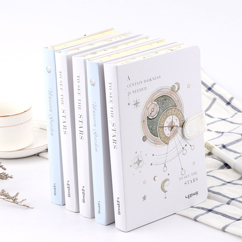 Creative Magnetic Buckle Notebook Paper Planner Bullet Journal Agenda School Diary Kawaii Note Book Daily Planner Stationery