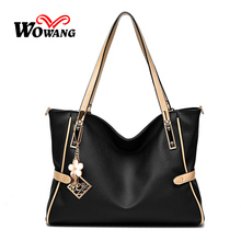 2016 Autumn New Women Leather Handbags Big Shoulder Bag Large Capacity Women Messenger Bag Crossbody Bag Clutch Tote Sac A Main
