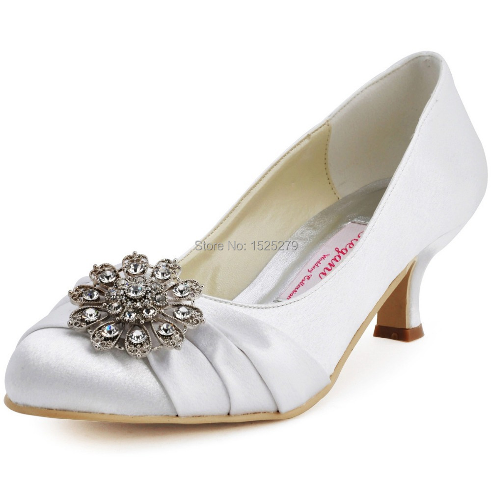 Ivory Chunky Heels Promotion-Shop for Promotional Ivory Chunky