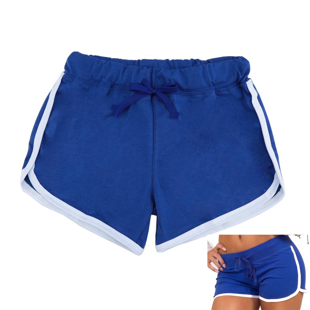 Yoga Sports Shorts Workout Fitness Big Size Cotton With Polyester Gym Clothes Sport Short Feminino For Girl Woman