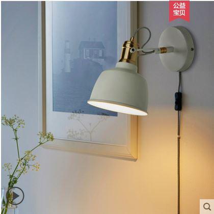Wall Lamp Bedside Bedroom Reading