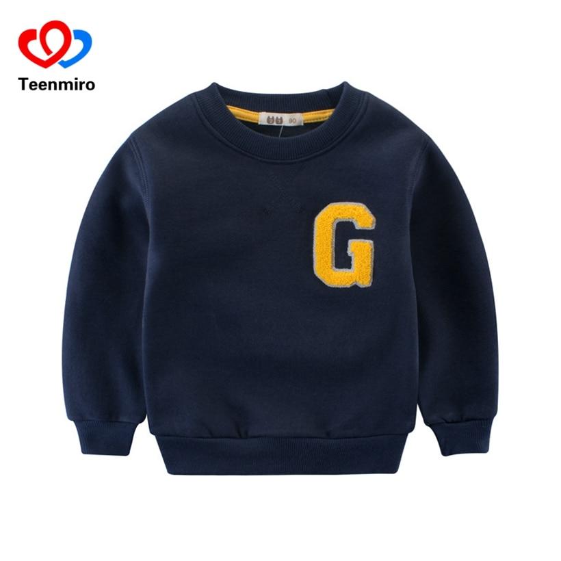 Spring Boys Letter Hoodie Kids Stripes TShirt Children Sweatshirt Baby Grey Moleton Long Sleeve Cotton Tees Toddler Casual Hoody