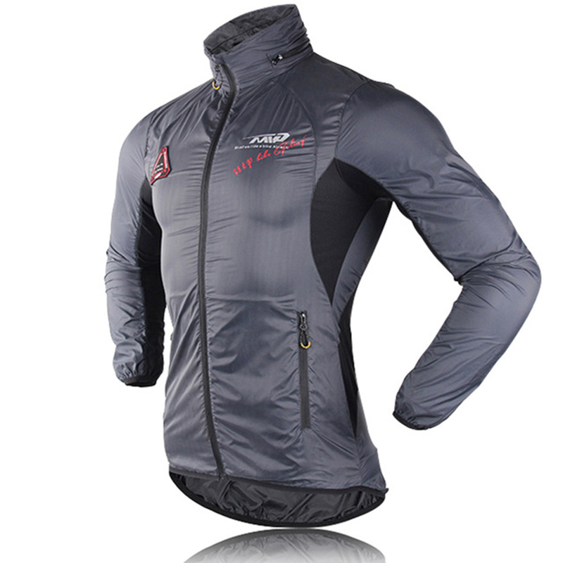 Ultra-light Hooded Bicycle Jacket Bike Windproof Coat Road MTB Cycling Wind Coat Long Sleeve Clothing Quick Dry Thin Jackets
