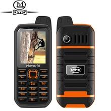 Russian keyboard shockproof mobile phone 3000mAh battery Dual SIM Original VKWorld Stone V3 Plus 2.4″ FM Flashlight cell phones