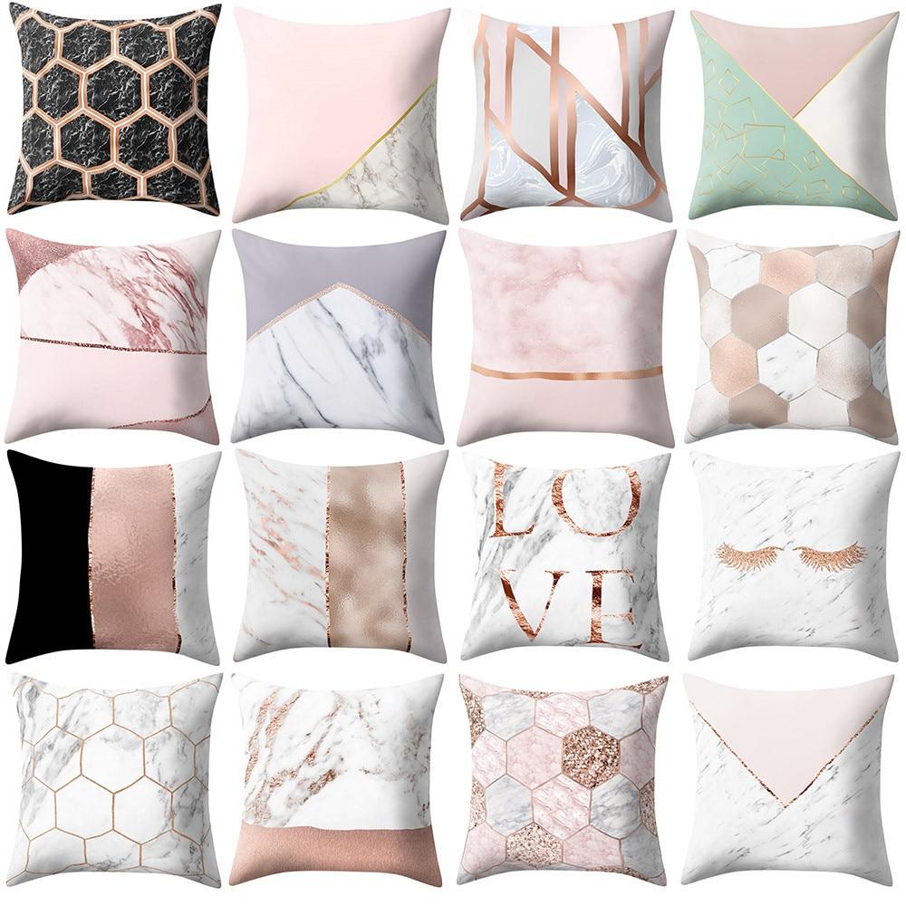 Aliexpress.com : Buy 2019 Pillowcases Geometric Marble