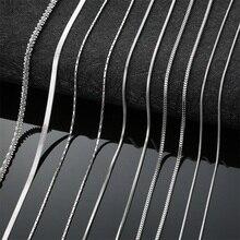 AZIZ BEKKAOUI, мужская и женская цепочка, цепочка со змеиным лезвием, Фигаро, цепочка, круглая, базовая цепь, нержавеющая сталь, колье, ювелирное изделие