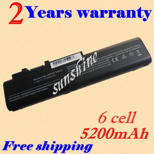Jigu bateria do portátil para asus a32-n50 a33-n50 n50 n50vn n50vc n51a n51s n51v n51tp n51vf n51vg n51vn 90nqy1b1000y 90-nqy1b2000y