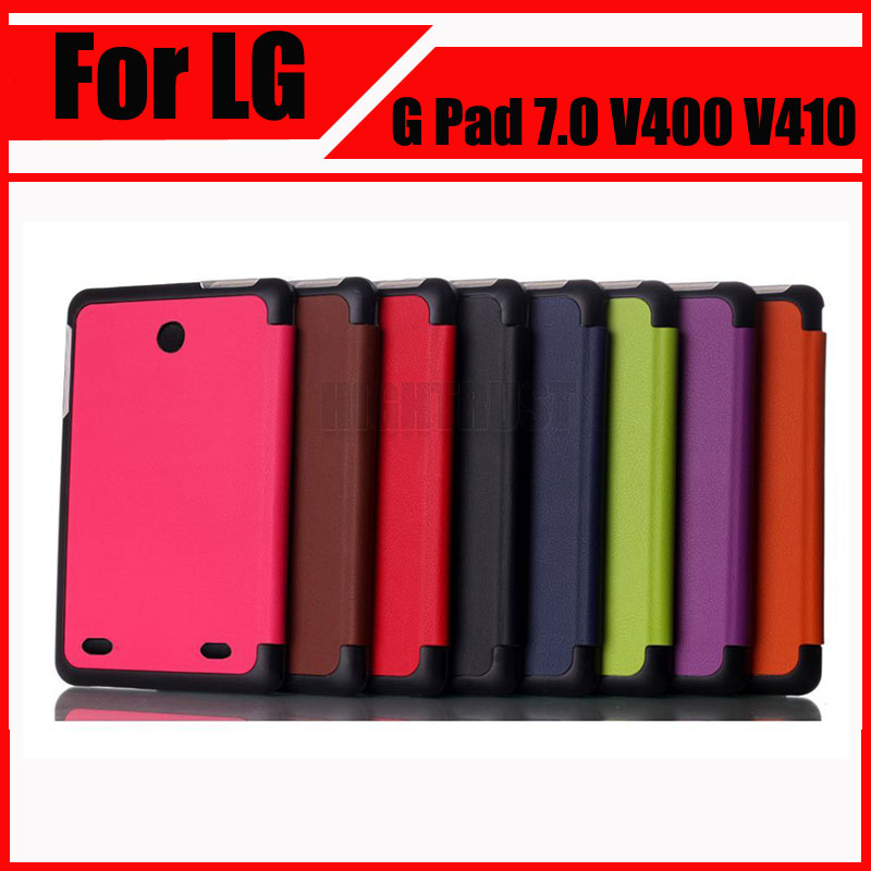 for lg g pad 2 10 1 v940 tablet cases high quality 3 fold pu