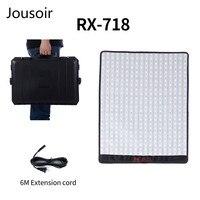 Falconeyes RX 718 100W RGB 2700 9999K Portable Roll Flex LED Photo Vedio Light with DMX 648pcs Flexible Photography Safety Box
