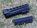 AK-47 Strikeforce Polymer Handguards(Upper and lower)with Picatinny Rails & inserts Free Shipping