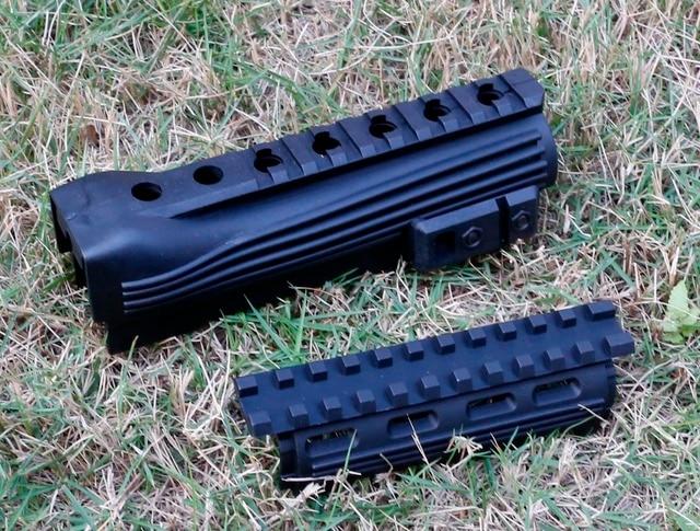 Protège-mains en polymère Strikeforce AK-47 (supérieur et inférieur) avec Rails et inserts en Picatinny livraison gratuite
