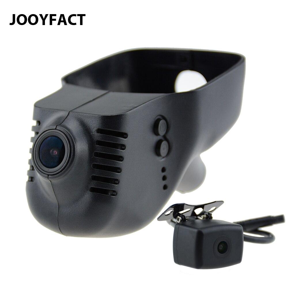 JOOYFACT A6 Voiture DVR Dash Cam Registrator Caméra Double 1080 p Nuit Vision Novatek 96663 IMX323 WiFi Pour VW Volkswagen skoda