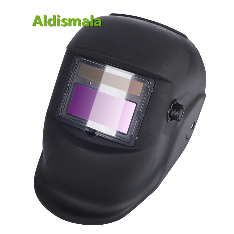 11X Solar Powred Auto Darkening Soldering Welding Helmet Welding Protective Gear