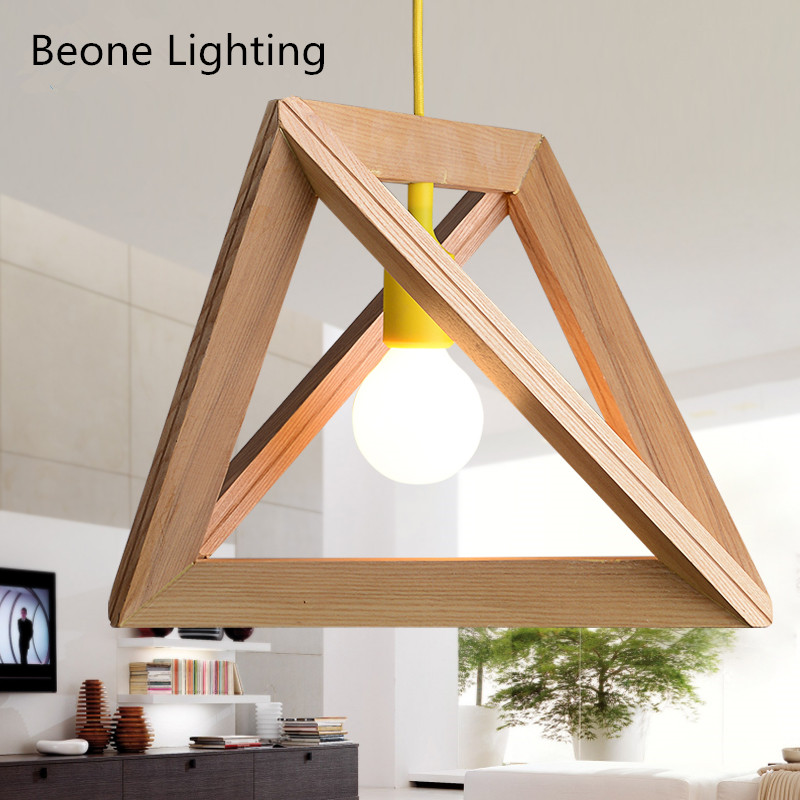 Herr Mandel Triangle Pendant Wood Lamp Frame pendant lamp pendant lighting pendant light сандалии mandel сандалии