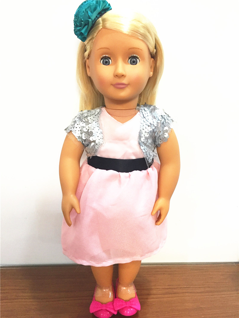 1/4 Our Generation whole Doll with Clothes and Shoes 18 inch American girl doll Jenny 46cm Doll casio mtp 1154pq 1a
