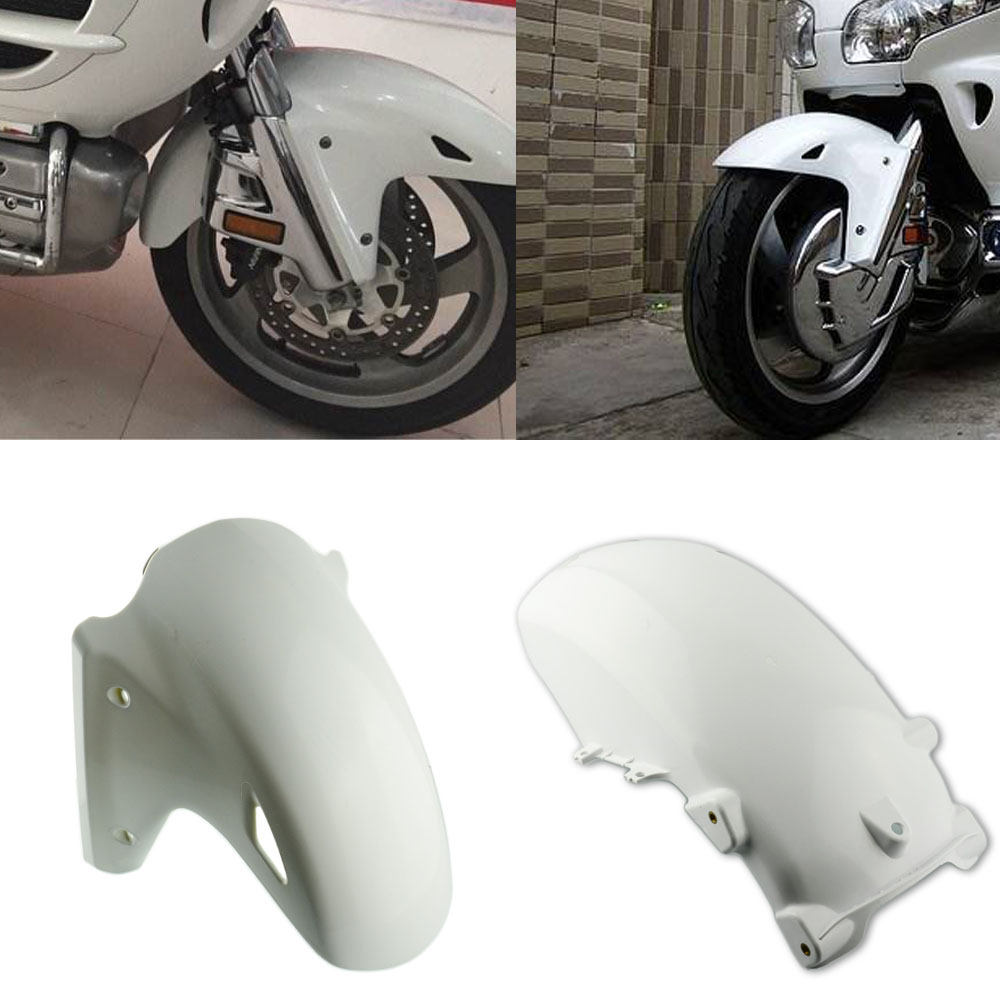 perfk ABS Plastic Chrome Fairing Rear Fender Trim for Honda Goldwing 1800 GL1800 2001-2011