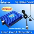 Gsm amplificador de la señal Display LCD 900 MHZ repetidor del teléfono celular amplificador repetidor de la señal GSM Booster celular receptores completo Kits