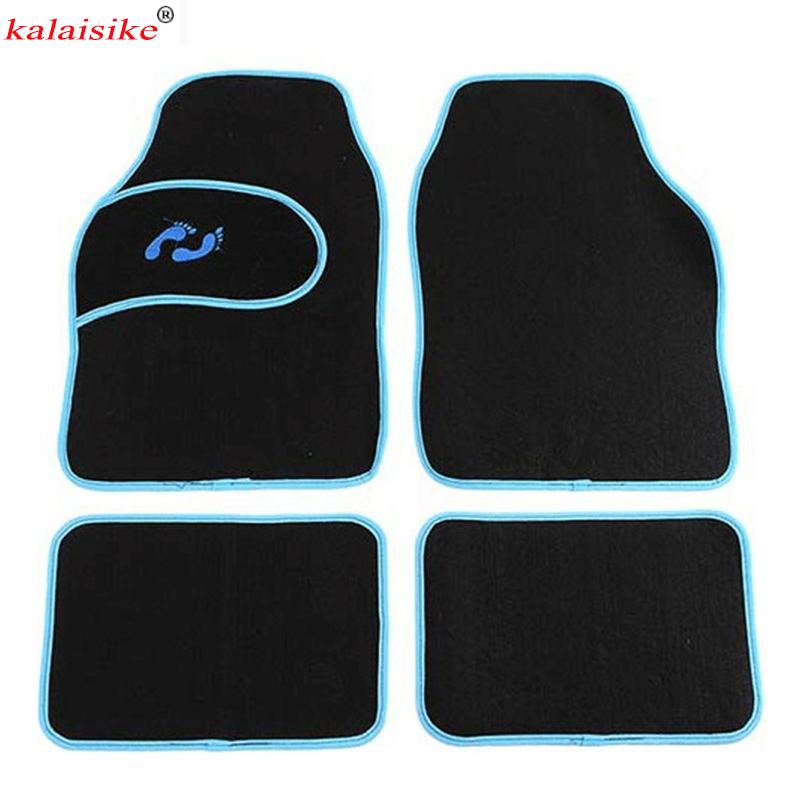 kalaisike universal car floor mats for Volvo All Models s60 s80 c30 s40 v40 v60 xc60 xc90 car styling car accessories