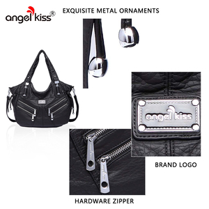 Image 2 - Angelkiss bolsa feminina bolsas de couro do plutônio feminino bolsa de ombro crossbody bolsa de ombro superior alça bolsa bolsa bolsa bolsa