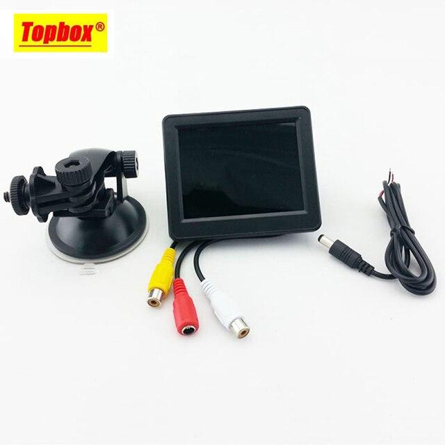Новый Высокое Качество 3.5 дюймов HD Автомобильный Монитор Автомобиля Цветной Цифровой TFT ЖК-Монитор Заднего Вида DVD