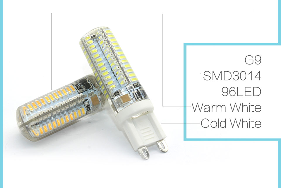 2017 новейшие светодиодные лампы светодиодные лампы G4 и G9 с СМД 2835 3014 4014 мозоли сид 220в 360 градусов кристалл лампы заменить галогенные лампы G4 и G9 с