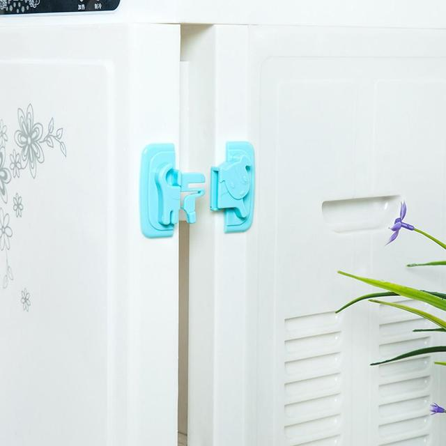 Cute Cabinet Lock & Strap