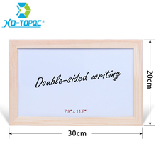XINDI 20*30cm Wholesale Magnetic Whiteboard Wood Frame Dry Wipe Board Office & School Supplier Factory Direct Sell WB40 free shipping 2017 wood magnetic blackboard dry wipe chalkboard office supplier 20 30cm factory direct sell home decorative