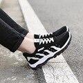 Primavera Otoño Hombres Casual Zapatos Al Aire Libre Respirable con cordones de Los Hombres Zapatos Planos de la Manera de los Hombres Populares Zapatos de Los Holgazanes Zapatos de Viaje Hombre