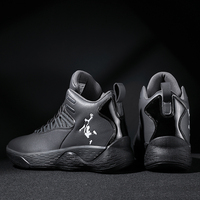 High top Jordan Basketball Shoes Men's Breathable Basketball Sneakers Athletic Outdoor Sport Shoes Plus Size Jordan Shoes 45 Air