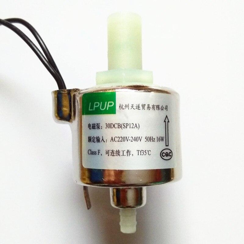 Micro pompe à vapeur pompe magnétique modèle 30DCB (SP12A) tension AC220V230V-240V-50Hz puissance 16 W