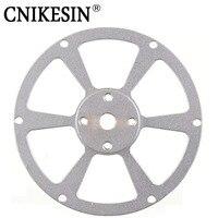 Cnikesin алюминиевого сплава фланец колеса, муфты вала связь фланец концентратор F95MM * Внутренний Диаметр 8 мм