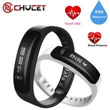 Chycet K8 Smart Браслет Heart Rate Приборы для измерения артериального давления измеритель пульса браслет Фитнес часы для IOS Android Smart Band PK Mi band 2
