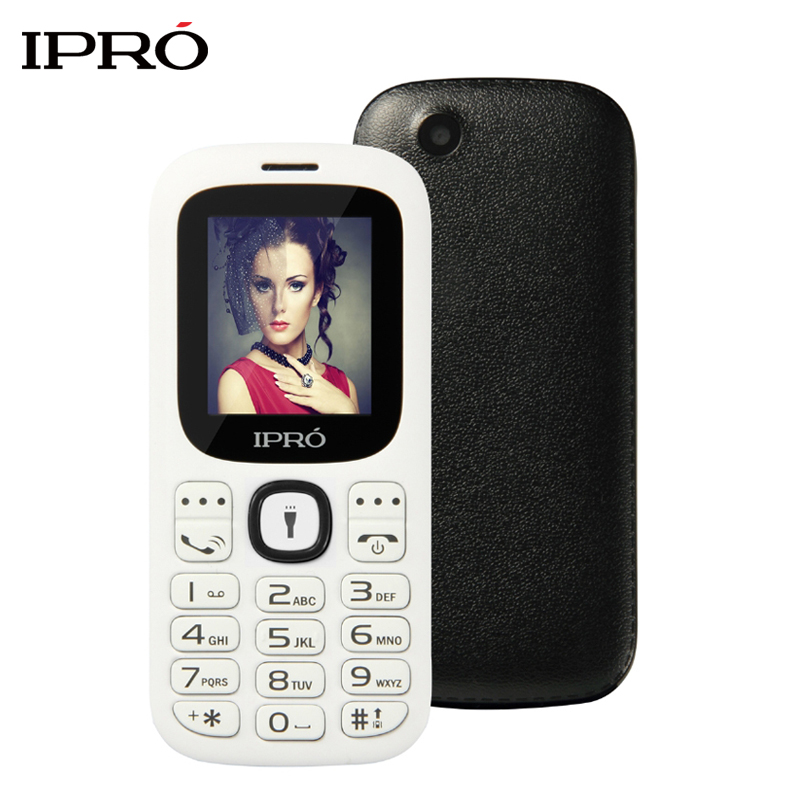Original IPRO I3185 Dual SIM Unlocked Mobile Phones GSM SC6531DA 1 77 Inch Bluetooth Cell Phone