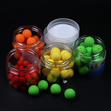 1 Bottle Carp Fishing Boilies Coarse Hair Rig Pop UPs Corn Floating Balls for Angling 8mm 10mm 12mm 14mm