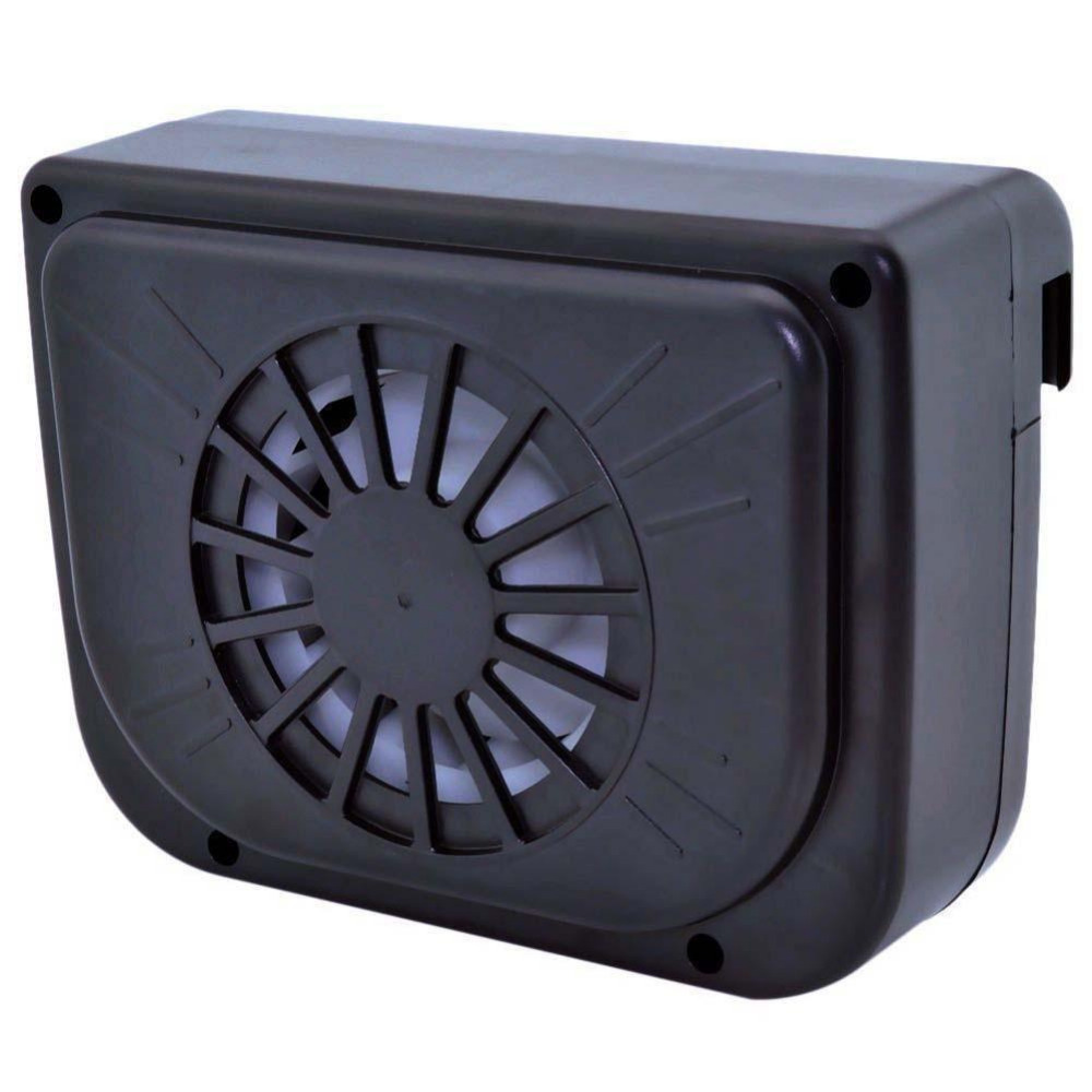 Maintains Safe Comfortable Temperature Solar Power Car Window Fan Auto Ventilator Cooling Vehicle Air Vent Portable