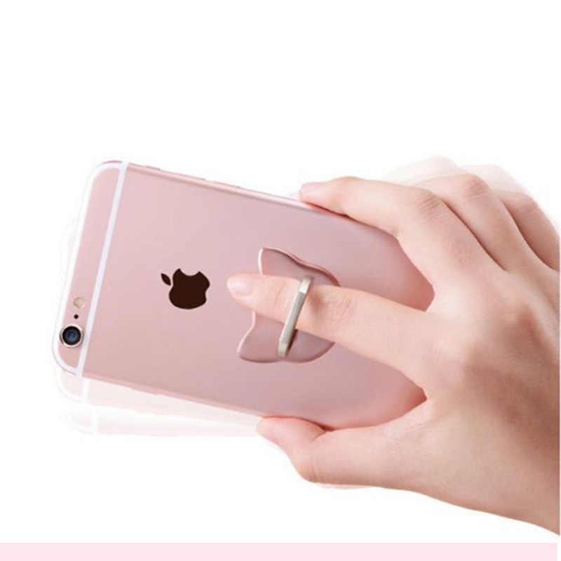 Nhẫn Điện Thoại Di Động Smartphone Đứng Cho iPhone XS Huawei Samsung Cell Tròn Thông Minh Nhẫn Điện Thoại Giá Đỡ Gắn Trên Xe Hơi chân Đế