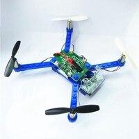 Building Block Drone Mini Drones 3D DIY Bricks Rc Quadcopter DIY Toys For Children Assembled Model Building Kits Educational Toy