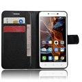 CYBORIS for Lenovo K5 Case Leather Phone Folio Case for Lenovo K5 Flip Cover Stand Bracket Wallet Card Holder