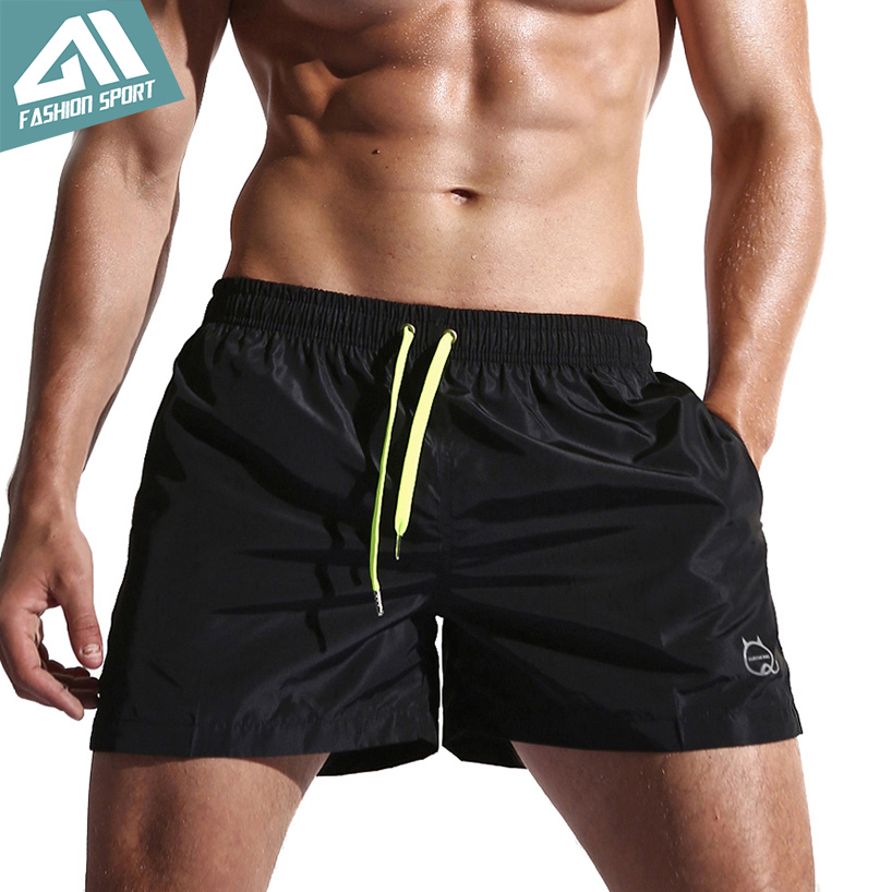 New Quick Dry Mens Swim Shorts Summer Board Shorts Surf Swimwear Beach Shorts Male Athletic Running Gym Shorts For Man SD001